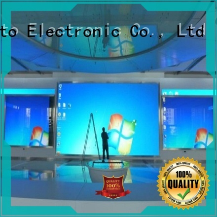 customized led advertising screen fixed with best color uniformity in market