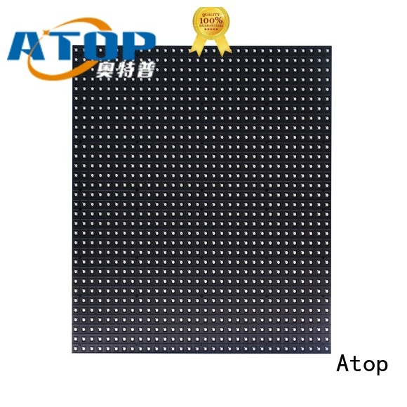Atop customized high power led module for indoor rental led display
