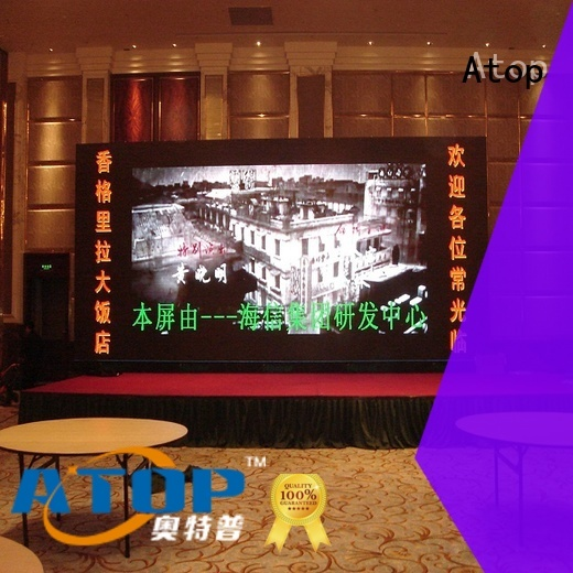 led wall panel design large in market Atop